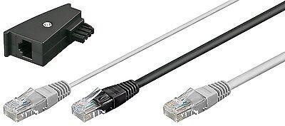 Fritz!Box FritzBox Y Kabel DSL Internet RJ45 Y Kabel TAE Adapter DSL Router 3 m