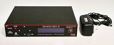 CONTEMPORARY RESEARCH QMOD-SDI 2 HDTV Modulator/Encoder