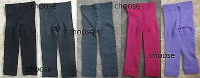 KEDS warm&cozy fleece lined footless tights,girl XS:2-4,S:4-6,M:7-10,L 12-14