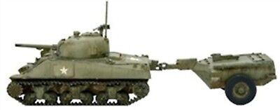 NEW BOLT ACTION MINIATURE US M4 SHERMAN CROCODILE FLAMETHROWER TANK 402413008