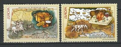 Romania 2005 CEPT Europa 2 MNH stamps
