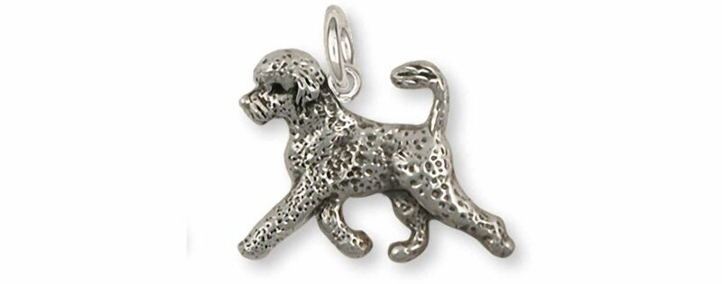 Portuguese Water Dog Jewelry Sterling Silver Handmade Portuguese Water Dog Chain