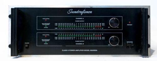 Soundcraftsmen MA5002A 2 Channel Stereo Class H Power Amplifier