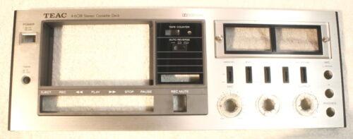 TEAC A-601R Faceplate-Vintage Cassette Deck