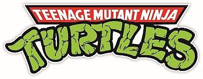Teenage Mutant Ninja Turtles Cartoon Vinyl Sticker Decal WALL *SIZES*