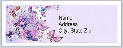 Personalized Address Labels Butterflies Buy 3 Get 1 Free Bx 558