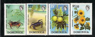 Dominica Scott         368  -  371  Mint Never Hinged