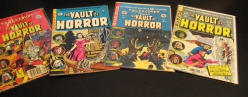 Lot of 21 EC Reprints! Horror•Crime•Sci Fi•Humor—Vault/Tales/Haunt/Shock/Weird++