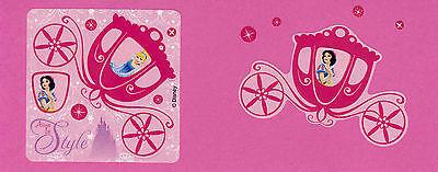 Make Your Own Snow (15 Make Your Own Disney Princess Stickers - Cinderella, Snow)