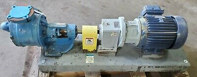 Viking Ls4125 Gear Pump 200 Gpm 100psi Gear Reducer 7.5hp Exp Motor