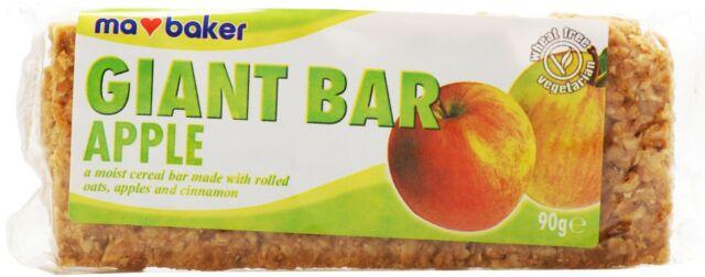 Ma Baker Giant Bar - Apple 90g  (Pack of 20)