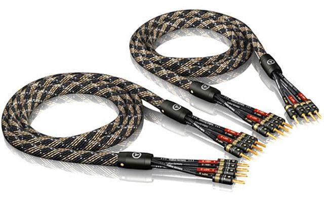 Viablue SC-4 Bananas T6s / HighEnd Speaker-Kabel / bi-amping / Bananen-Stecker