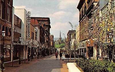 Cumberland Maryland Cumberland Mall Vintage Postcard (Malls Maryland)