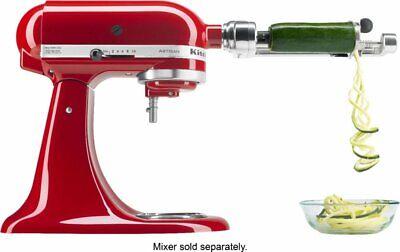 KitchenAid - KSM1APC Spiralizer Mixer Attachment - Metal