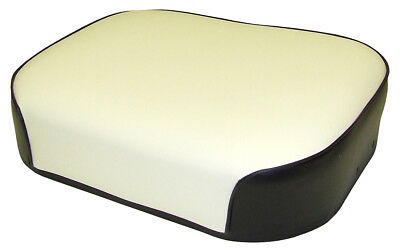 Deluxe Seat Cushion Black And White Vinyl For International 656 666 Tractors