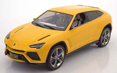 Mcg 2012 Lamborghini Urus Yellow Color 1 18 Rare Find  Nice