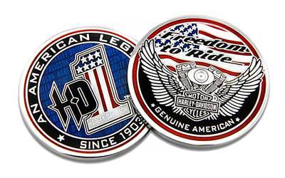 Harley-Davidson American Legend #1 Challenge Coin, 1.75 in Coin - Harley Davidson American Legend