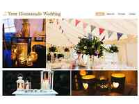 Lanterns, bunting and decorations