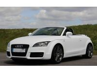 2010 Audi TT Convertible S Line Special Edition Quattro TDI FSH BOSE sound Immaculate Sat NAV