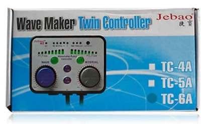 Jebao TC-6A WP-60 WP-40 aquarium wave maker Pump TWIN controller coral reef tank
