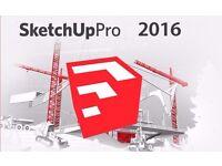 SKETCHUP PRO 2016 2015 - FULL