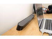 goGroove UBR USB Soundbar for tv/pc/laptop/phone/xbox/playstation etc