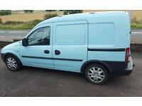 Vauxhall combo crew van. 5 seats.