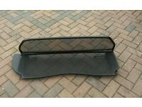 Wind deflector for peugeot 206