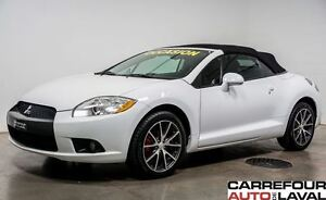 2009 Mitsubishi ECLIPSE SPYDER GT*Cabriolet*V6*CUIR/MAGS/AC/GARA