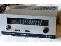 Vintage Stereo Equipment TRIO Solid State AM FM Tuner KT-1000A + ADC Sound Shaper One IC SS1-IC
