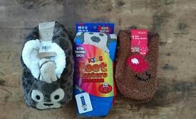 Childrens socks & slippers