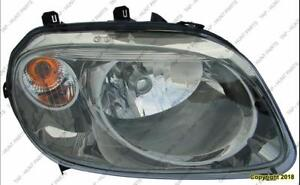 Head Lamp Passenger Side With Rpo-Bze High Quality Chevrolet HHR 2007-2010