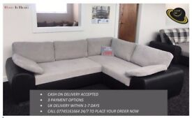 **THE ENZO SOFA BED, AVAILABLE IN FULL LEATHER & CORD FABRIC**UK DELIVERY **