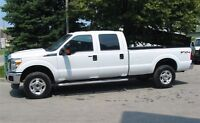 2013 Ford F-350 crewcab 4x4 xlt long box GAS