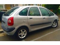 Citroen Xsara Picasso 1.8 i 16v SX 5dr-2002-MOT Jun'17-Silver-Excellent running condition-Spacious