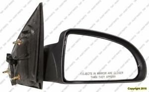Door Mirror Power Passenger Side Sedan PONTIAC PURSUIT 2005-2010