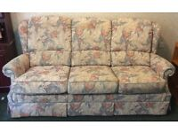 Quality G Plan Floral 3 seater settee