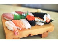 (Assistant) sushi chefs wanted for a sushi bar Atariya James Street (Central London)
