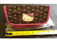 New Hello Kitty Pencil Case - stationary Back to School