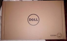 "NEW Dell E2216H 21.5"" LED Monitor Full HD"