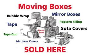 New And Used Moving Boxes And Supplies: Stand Up Wardrobe,  Packing Paper Dollies, More  - BudgetBoxGuy.Com 403-697-1000 Calgary Alberta Preview