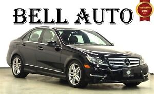 2013 Mercedes-Benz C-Class 250 SUNROOF LEATHER INTERIOR 80KMS!