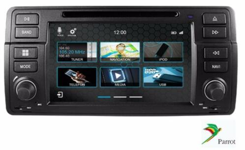 bmw e46 m3 autoradio navigatie dvd pdc parrot usb tmc. Black Bedroom Furniture Sets. Home Design Ideas