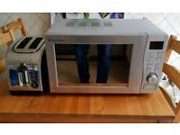 Russell Hobbs Microwave and Toaster