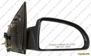 Door Mirror Power Passenger Side Sedan Chevrolet Cobalt 2005-2010