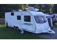 Coachman 6 Berth Caravan With Fixed Bunk Beds And Large Washroom. VGC Family Caravan. 2010 Model.