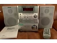 SONY CMT-EP707 Micro Hi-Fi Component System - CD, Tape, Radio, MD