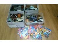 Mega bloks castle, dragons, figures etc fits with lego - huge bundle