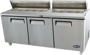 "72"" Sandwich prep table - brand new -"