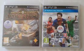X2 PS3 Games